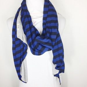 Converse | Women Stripe Reversible Scarf